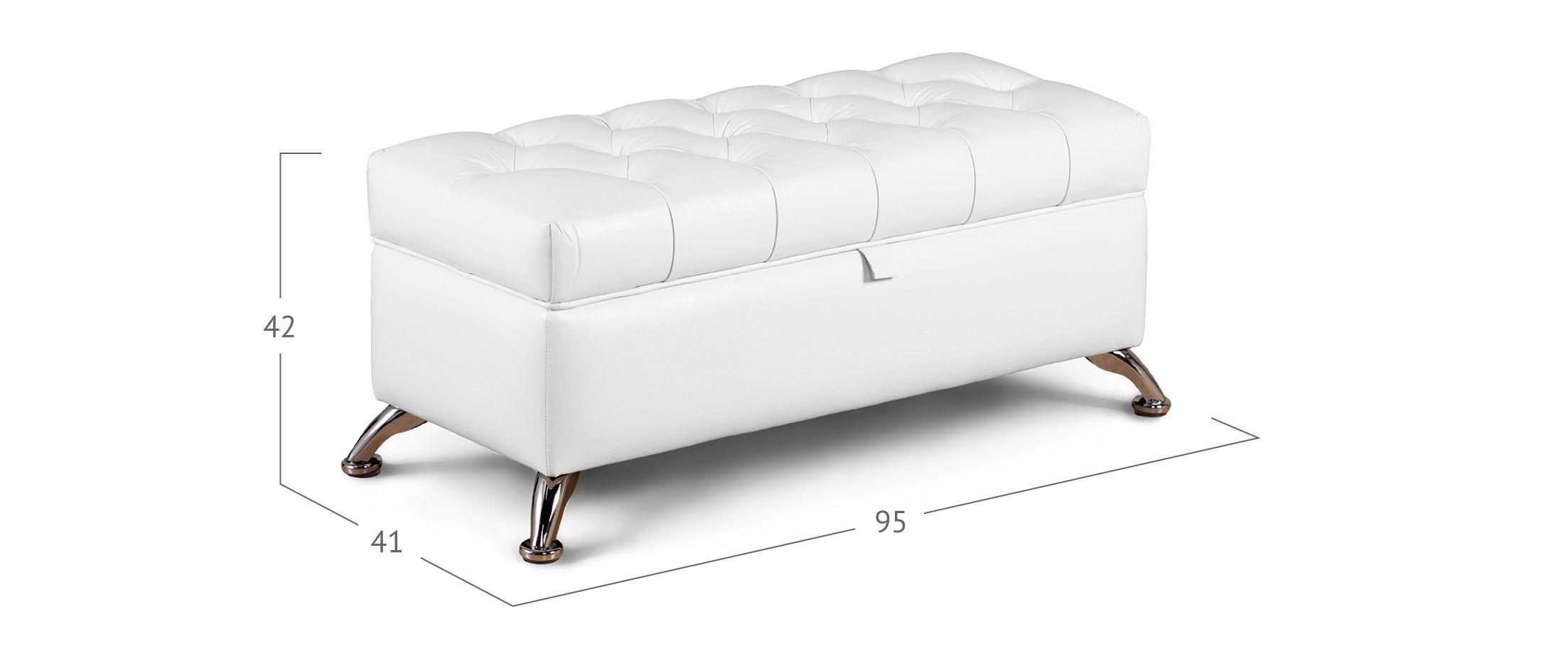Банкетка Рондель марципан Модель 581