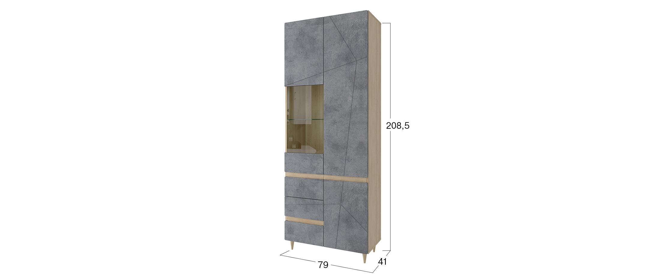 Шкаф Киото со стеклом Модель 295
